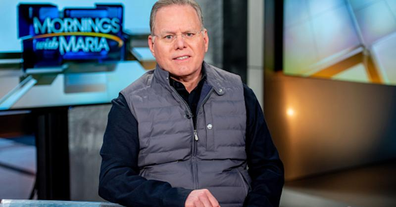 : Discovery Inc. CEO David Zaslav visits 'Mornings With Maria' at Fox Business Network Studios on April 10, 2019 in New York City.