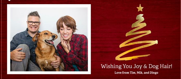 The card Mary Mack and her husband Tim plan to send out this year. (Mary Mack)
