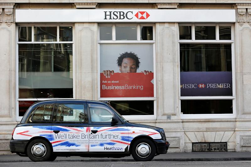 HSBC: The bank says some firms are already routing business through Europe in fear of what a hard Brexit could do to trade: REUTERS