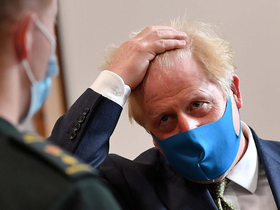The official word on masks from Downing Street is that they either increase or decrease the risk of infection, they're not mandatory but you should wear one, or perhaps not: Reuters