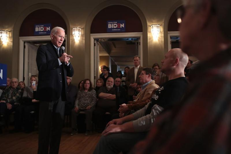 Biden's Holiday Pitch to Iowa: I'm the Best Candidate to Beat Trump
