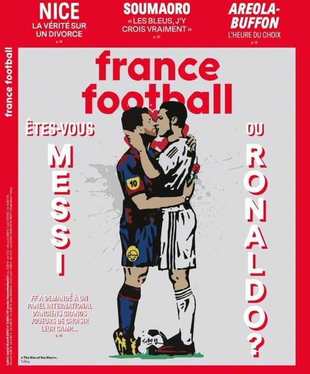 Messi Cristiano France Football