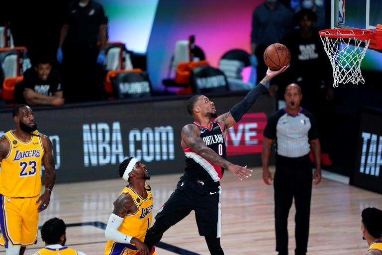'Dame Time!': Blazers' Lillard won't let up against Lakers