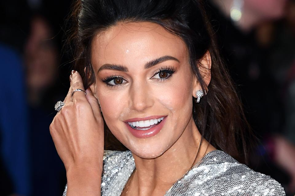 LONDON, ENGLAND - FEBRUARY 18: Michelle Keegan attends The BRIT Awards 2020 at The O2 Arena on February 18, 2020 in London, England. (Photo by Gareth Cattermole/Getty Images)