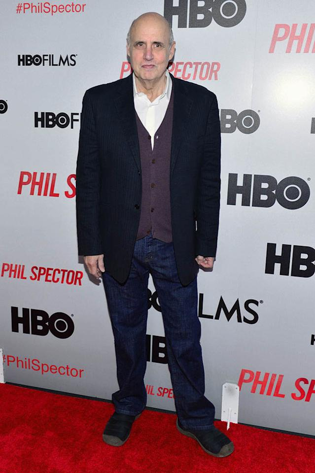 "Jeffrey Tambor attends the ""Phil Spector"" premiere at the Time Warner Center on March 13, 2013 in New York City."