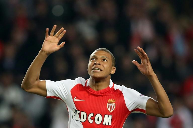 Monaco's forward Kylian Mbappe turns 19 in December and made his France debut last month