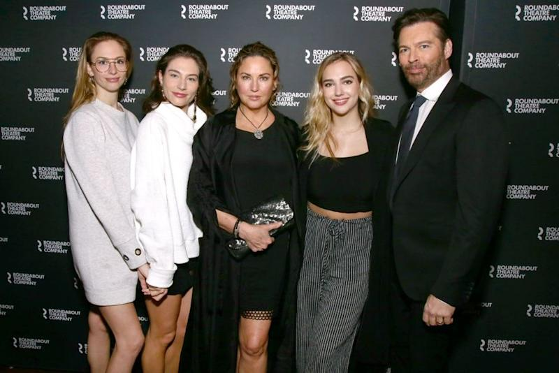 Harry Connick Jr. and Jill Goodacre with their daughters | Paul Zimmerman/REX/Shutterstock