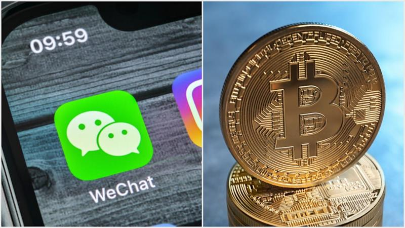 Binance CEO Chanpeng Zhao sees WeChat's expanded ban on bitcoin as short-term pain, long-term gain.   Source: (i) Shutterstock (ii) Shutterstock ; Edited by CCN