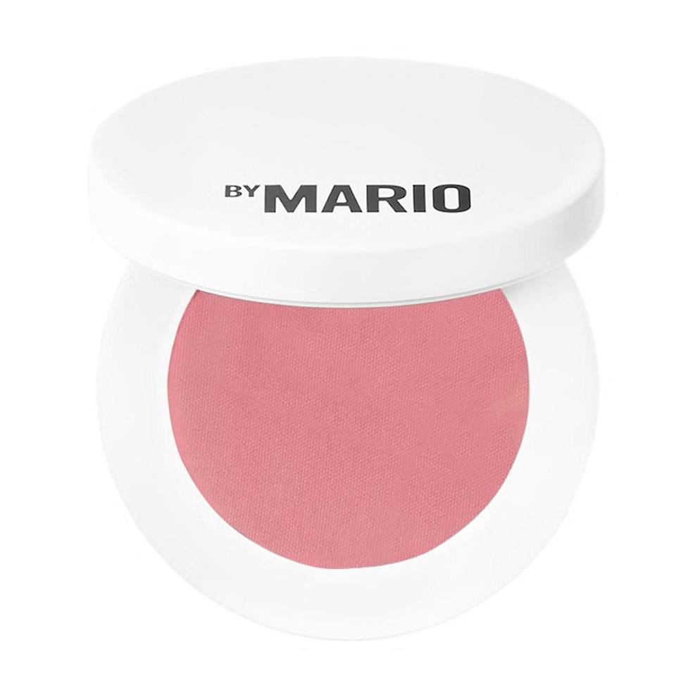"""Fans of Mario Dedivanovic's line have been eagerly waiting for complexion products since the brand launched earlier this year—and it makes sense, considering he's made a name for himself kontouring Kim K herself. His latest drop of cream and powder blushes, contour products, and highlighters don't disappoint. I'm a fan of all the formulas, but am particularly impressed by the powder blushes, which are super pigmented, extremely smooth, and never blotchy or streaky. <em>—B.C.</em> $24, Sephora. <a href=""""https://www.sephora.com/product/makeup-by-mario-soft-pop-powder-blush-P472325?country_switch=us&lang=en&skuId=2449742&om_mmc=ppc-GG_1165716884_110735200215_pla-968537453881_2449742_469867987427_9067609_c&ds_rl=1261471&gclid=CjwKCAjwieuGBhAsEiwA1Ly_nej24CUjfndrIIEsS7KezZFwsl1g52rRuxxPUaHdT4UZG1eIXihq2hoCgoAQAvD_BwE&gclsrc=aw.ds"""" rel=""""nofollow noopener"""" target=""""_blank"""" data-ylk=""""slk:Get it now!"""" class=""""link rapid-noclick-resp"""">Get it now!</a>"""
