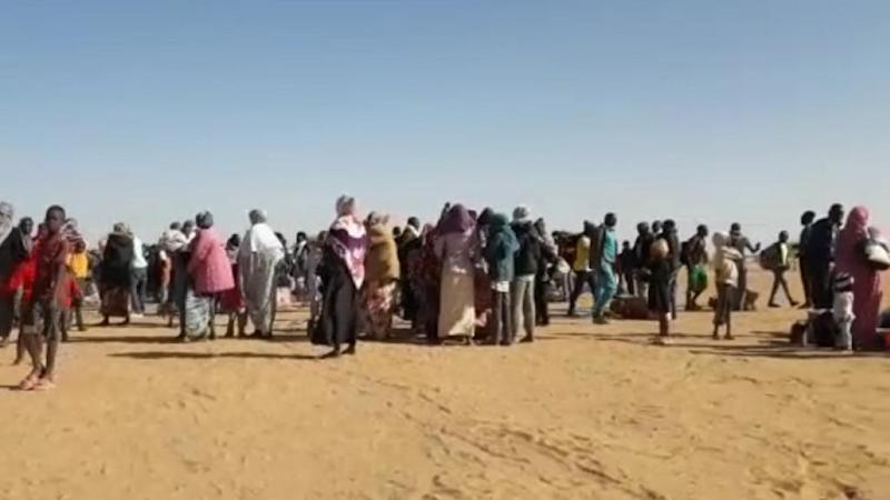 More than a thousand asylum seekers take part in mass sit-in in Niger