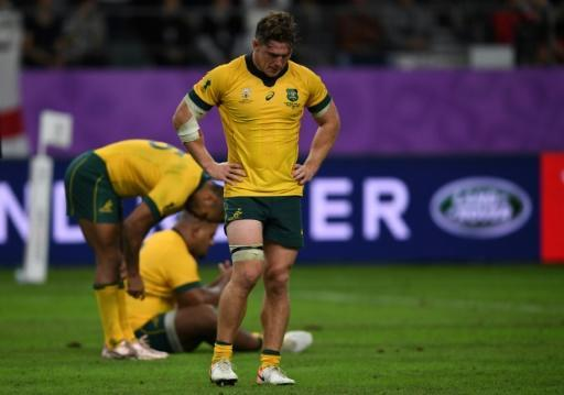 Australia lost to England in last year's Rugby World Cup quarter-finals