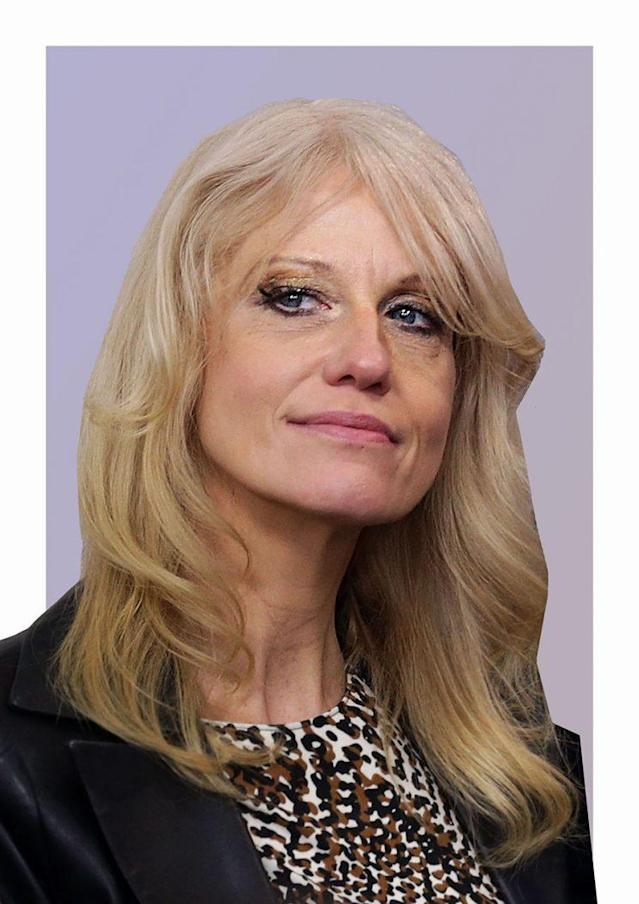White House counselor Kellyanne Conway. (Photo by Alex Wong/Getty Images)