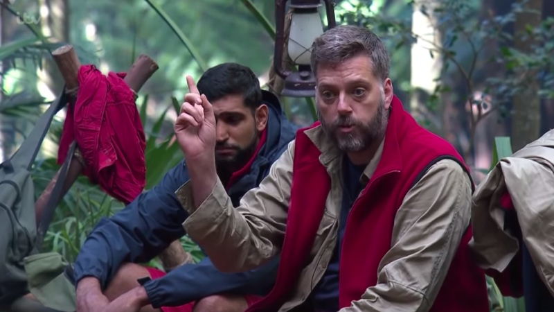 Iain Lee has said there could've been more help available after his I'm A Celebrity stint. (ITV/YOUTUBE)