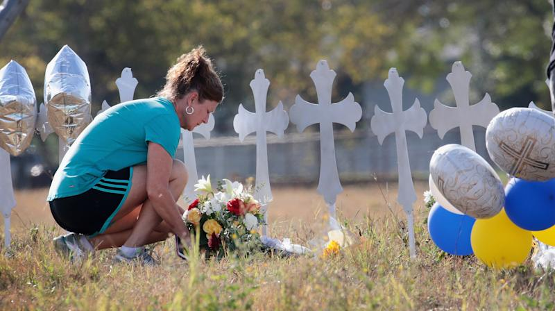 Why The Texas Church Shooting Death Toll Includes A Fetus