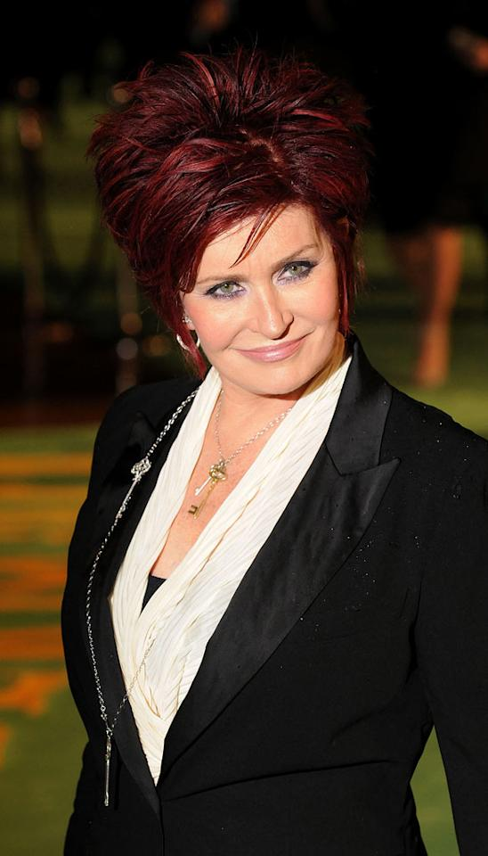 "<a href=""http://movies.yahoo.com/movie/contributor/1804456784"">Sharon Osbourne</a> at the London premiere of <a href=""http://movies.yahoo.com/movie/1810078365/info"">Alice in Wonderland</a> - 02/25/2010"