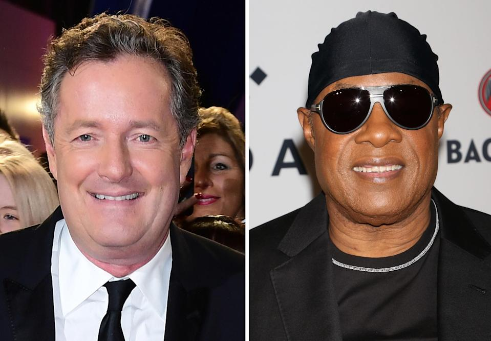 Piers welcomes Stevie to the Twittersphere. (PA)
