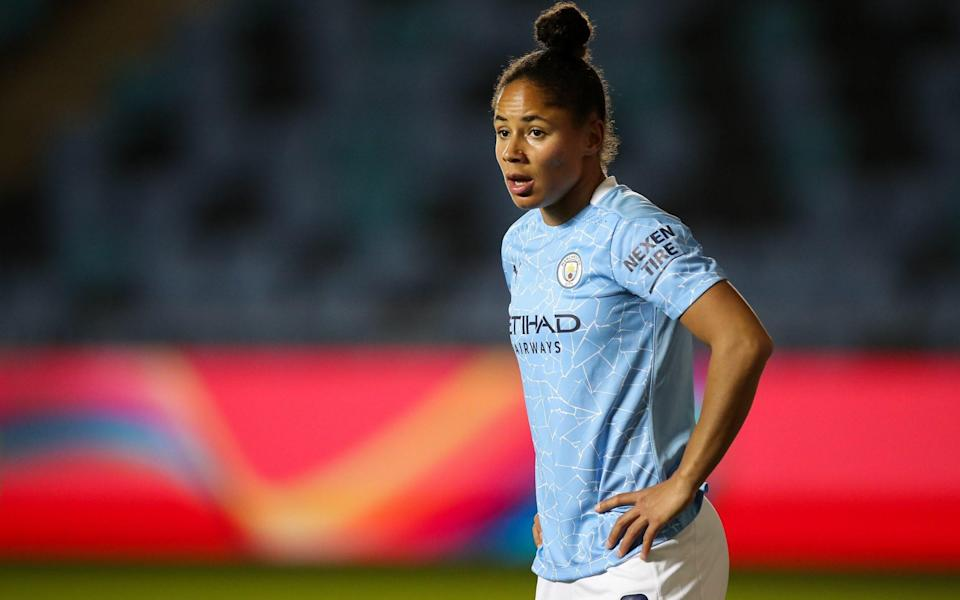 Manchester City star Demi Stokes - GETTY IMAGES