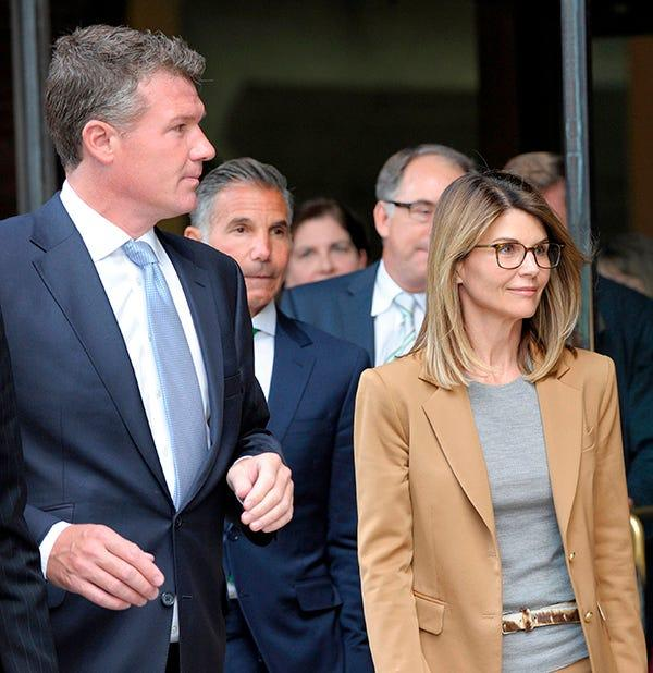 Actress Lori Loughlin faces charges for allegedly conspiring to commit mail fraud.