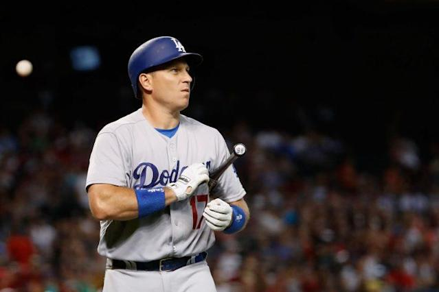 The Dodgers traded A.J. Ellis to the Phillies. (Getty Images/Christian Petersen)