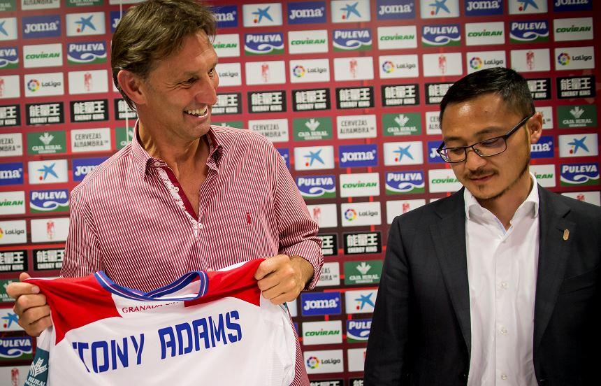 Tony Adams is presented as Granada boss: Reuters