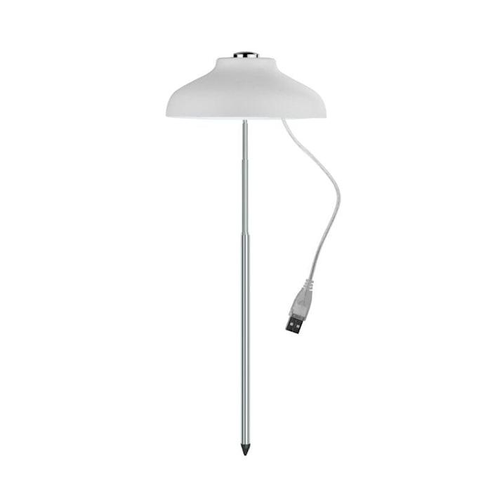 """<p>This stylish, height-adjustable <span>LED Umbrella Plant Grow Light</span> ($30, originally $33) keeps your plants growing when it's too cold or rainy to leave them outside - simply stick it inside of your <a href=""""https://www.popsugar.com/home/best-indoor-pots-and-planters-47542659"""" class=""""link rapid-noclick-resp"""" rel=""""nofollow noopener"""" target=""""_blank"""" data-ylk=""""slk:planter"""">planter</a>. </p>"""