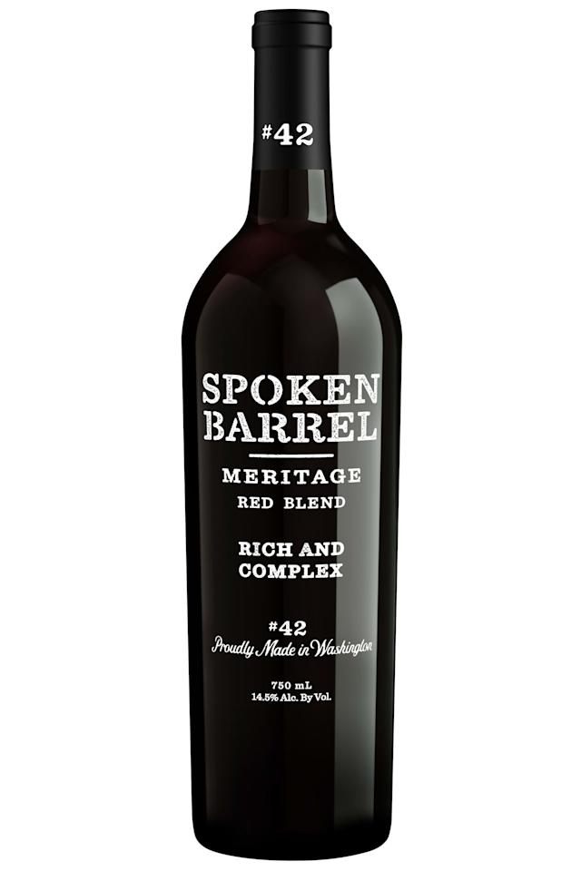 "<p><strong></strong></p><p>Spoken Barrel Meritage Red Blend, wine.com</p><p><strong>$19.99</strong></p><p><a rel=""nofollow"" href=""https://www.wine.com/product/spoken-barrel-meritage-red-blend-2015/506387"">Shop Now</a></p><p>Is he always down for a glass of wine with dinner? He'll love this Bordeaux blend; you'll love the price.  </p>"