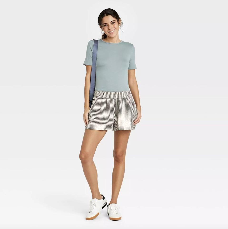 <p>These <span>A New Day High-Rise Pull-On Shorts</span> ($17) were designed for all-day wear, thanks to the relaxed fit.</p>
