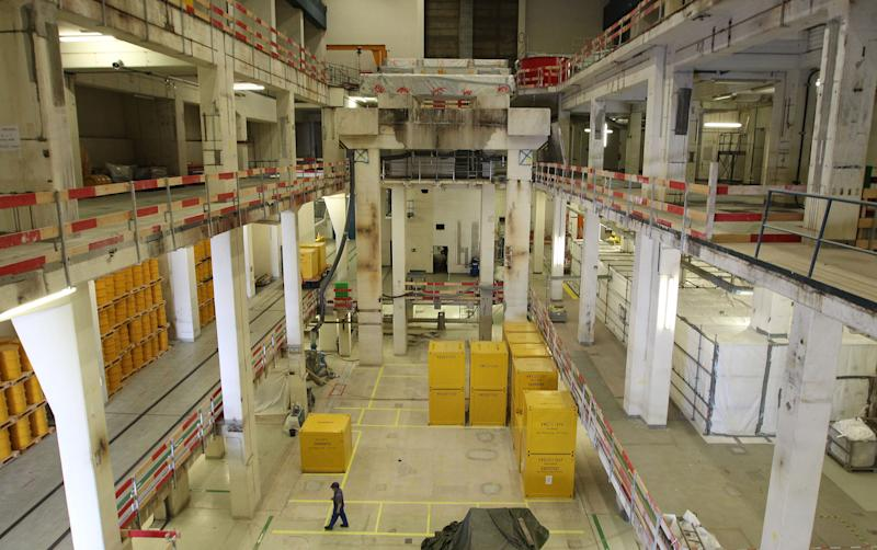 The former machine-hall of the Obrigheim Nuclear Power Plant in Germany (AFP Photo/Daniel Roland)