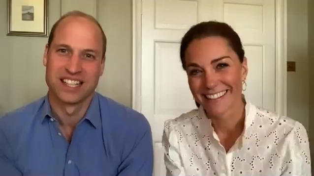 William revealed he is one of the responders on the crisis text line. (Kensington Palace)