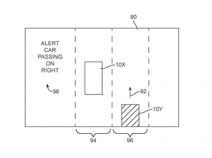 Apple Patent 10,878,699 B2 Wireless Vehicle System for Enhancing Situational Awareness December 29 2020