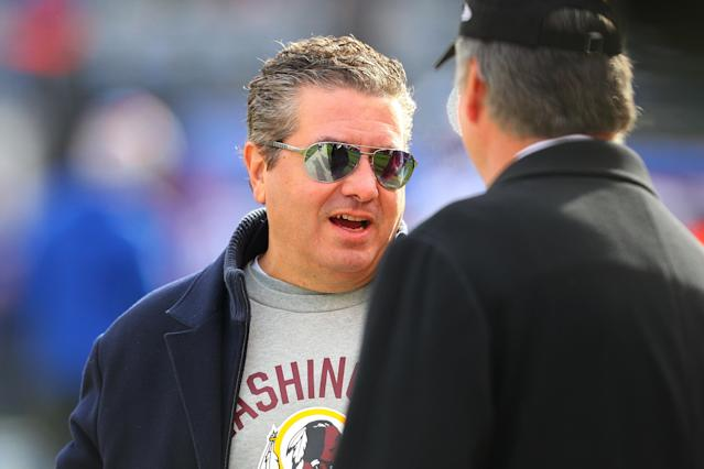Washington owner Daniel Snyder hired an investigator to examine alleged sexual harassment claims that came to light after a Washington Post story. (Photo by Rich Graessle/Icon Sportswire via Getty Images)