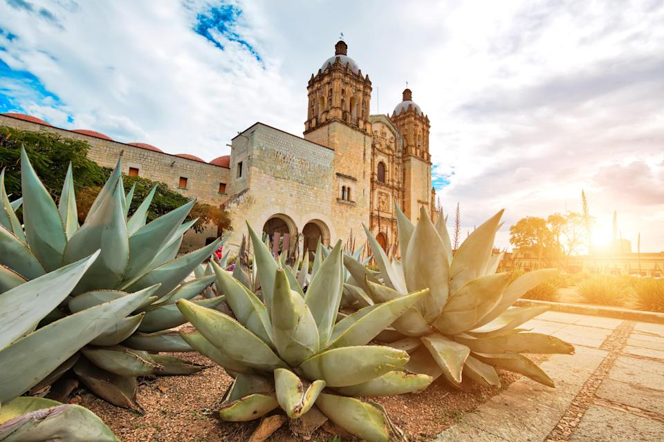 """Far from the coastal spring break hotspots of Cancún and Cabo San Lucas, <a href=""""https://www.cntraveler.com/story/why-everyone-will-be-traveling-to-oaxaca-this-year?mbid=synd_yahoo_rss"""" rel=""""nofollow noopener"""" target=""""_blank"""" data-ylk=""""slk:Oaxaca"""" class=""""link rapid-noclick-resp"""">Oaxaca</a>, in south-central Mexico, is one of the most important cultural hubs in the Americas. The state and its resort towns are currently in the green phase, with most businesses open but social distancing and masking requirements still in place, and we can think of few other places where we'd rather spend our tourist dollars. Explore the region's <a href=""""https://www.cntraveler.com/story/inside-oaxacas-female-led-craft-revolution?mbid=synd_yahoo_rss"""" rel=""""nofollow noopener"""" target=""""_blank"""" data-ylk=""""slk:craft revolution"""" class=""""link rapid-noclick-resp"""">craft revolution</a> led by female entrepreneurs, secure a table at Alejandro Ruiz's <a href=""""https://www.cntraveler.com/restaurants/oaxaca/casa-oaxaca-el-restaurante?mbid=synd_yahoo_rss"""" rel=""""nofollow noopener"""" target=""""_blank"""" data-ylk=""""slk:Casa Oaxaca"""" class=""""link rapid-noclick-resp"""">Casa Oaxaca</a> for traditional dishes and cocktails, then head to the streets for delicious tacos and moles served from food trucks. An extra special reason to visit in July is the vibrant Guelaguetza Festival, which takes place on the last two Mondays of the month. The festival celebrates the 16 different ethnolinguistic groups of Oaxaca with folk dancing, traditional clothing, mezcal fairs, and concerts."""