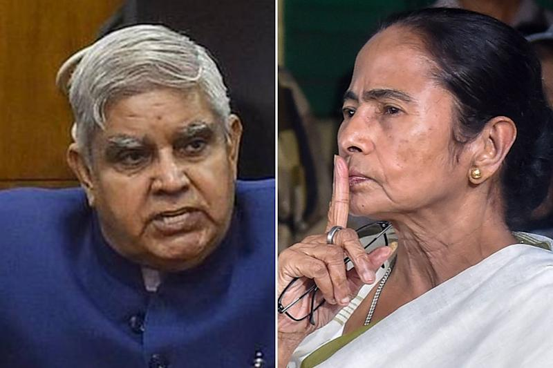 Bengal Guv Says Education in State 'Politically Caged'; Didi Calls Him More Dangerous Than BJP Mouthpiece