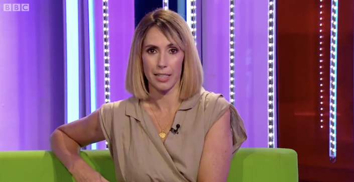 Alex Jones is a fan favourite and leading lady of 'The One Show' (BBC)