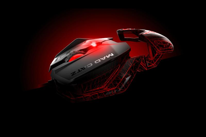 Mad Catz has improved sensors, ergonomics, and more in new line of RAT mice