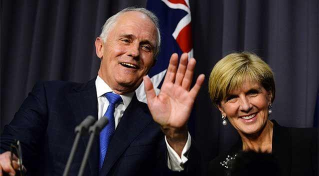 The switch to Mr Turnbull appears to have translated into an immediate electoral bounce for the Liberals ahead of Saturday's by-election in the seat of Canning. Photo: AAP