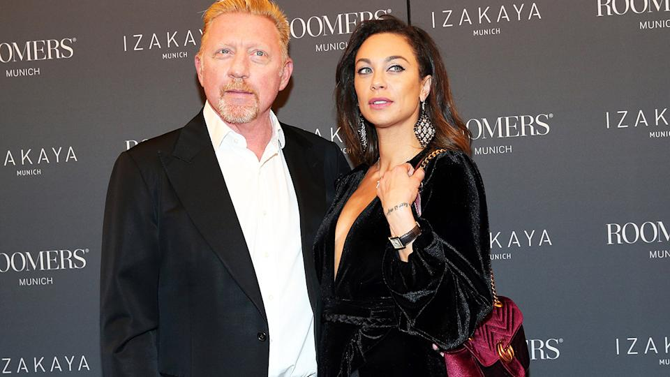 Boris Becker and wife Lilly, pictured here in Munich in 2017.