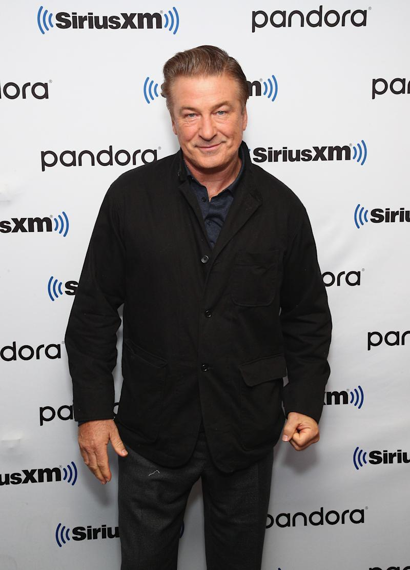 "NEW YORK, NEW YORK - OCTOBER 21: Actor Alec Baldwin attends SiriusXM's Town Hall with the cast of ""Motherless Brooklyn"" on October 21, 2019 in New York City. (Photo by Astrid Stawiarz/Getty Images for SiriusXM)"