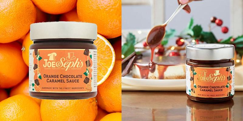 You Can Buy Orange Chocolate Caramel Sauce, And It's Making Us Feel All Kinds Of Ways