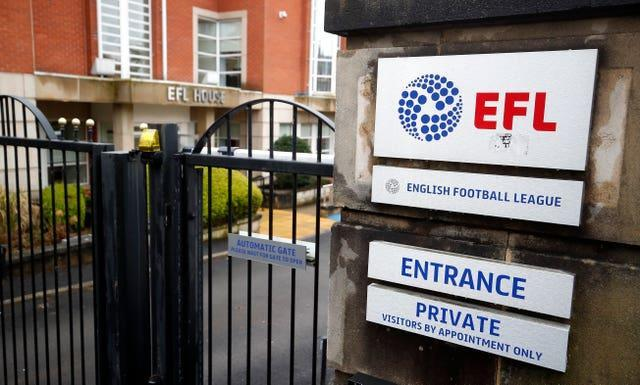 The EFL's SCMP rules tie player-related spending to turnover