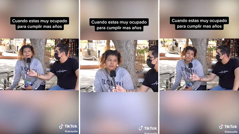 Several people believed the woman in the video looked like Sofia. Source: TikTok