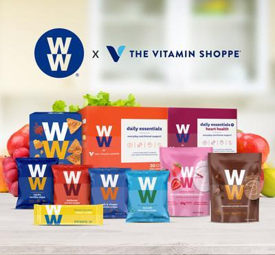 The Vitamin Shoppe and WW collaboration includes the launch of co-branded nutritional supplements; the introduction of select member-favorite WW snacks and protein boosters to The Vitamin Shoppe; and the opportunity to purchase WW memberships through The Vitamin Shoppe.