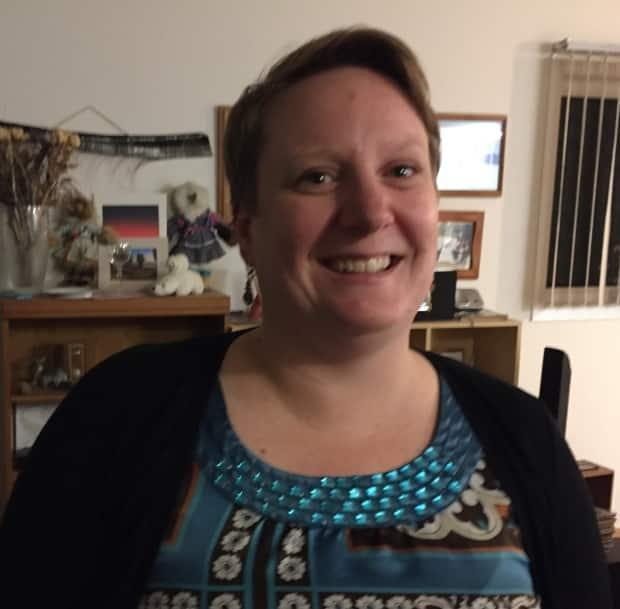 After serving one term as mayor, Natasha Kulikowski decided to run as a councillor in the next election in Inuvik, N.W.T., on Oct. 18. (Mackenzie Scott/CBC  - image credit)