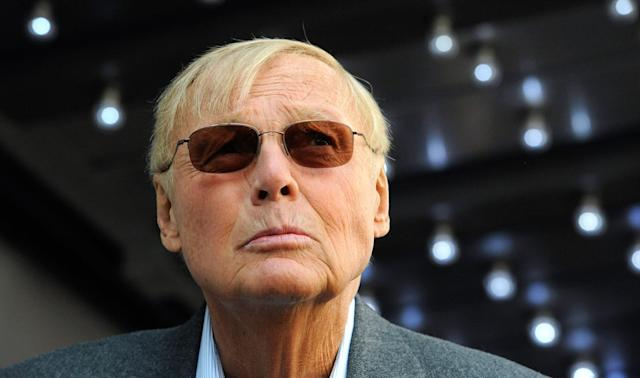 <p>Actor Adam West poses for photographers at a ceremony where he received a star on the Hollywood Walk of Fame in Los Angeles, Calif., April 5, 2012. (Photo: Phil McCarten/Reuters) </p>