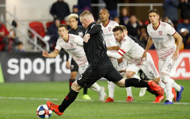 A dying breed? Stockier players like Wayne Rooney are becoming rarer thanks to improved playing surfaces - USA TODAY Sports