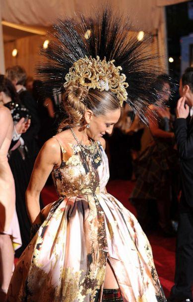 PHOTO: Sarah Jessica Parker attends the Costume Institute Gala for the 'PUNK: Chaos to Couture' exhibition at the Metropolitan Museum of Art on May 6, 2013 in New York City. (Dimitrios Kambouris/Getty Images, FILE)