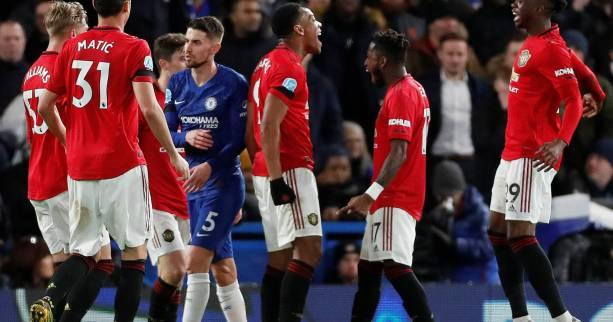 Foot - ANG - Premier League : Manchester United s'impose à Chelsea, Anthony Martial buteur