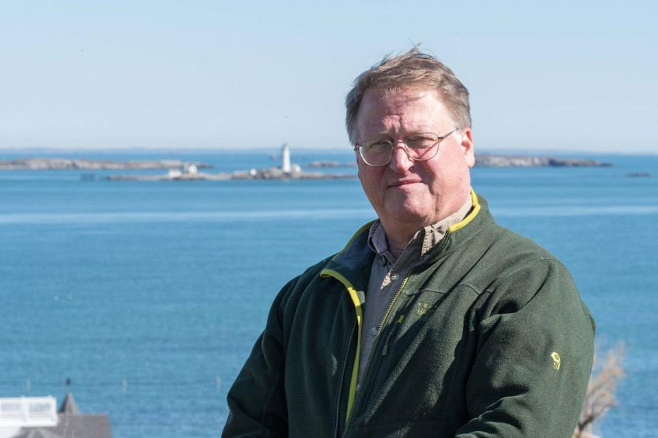 Charles McCreery worked as an oceanographer at the Bureau of Ocean Energy Management from 2013 to 2018. He's pictured here at Fort Revere, a historical site in Hull, Massachusetts. (Photo: Sally Chisholm/Contributed photo)