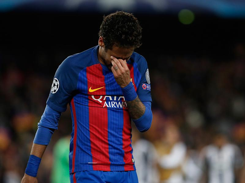 Neymar's ban was extended after he sarcastically applauded a fourth official: Getty