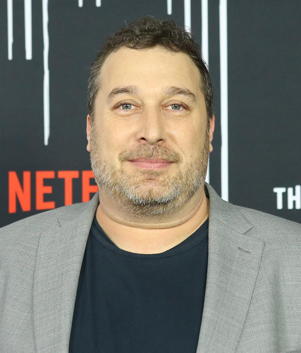"HOLLYWOOD, CALIFORNIA - FEBRUARY 12: Steve Blackman attends the Los Angeles premiere of Netflix's ""The Umbrella Academy"" held at ArcLight Hollywood on February 12, 2019 in Hollywood, California. (Photo by Michael Tran/FilmMagic)"